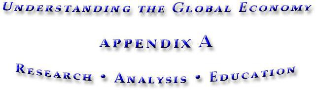 appendix A for the book Understanding the Global Economy