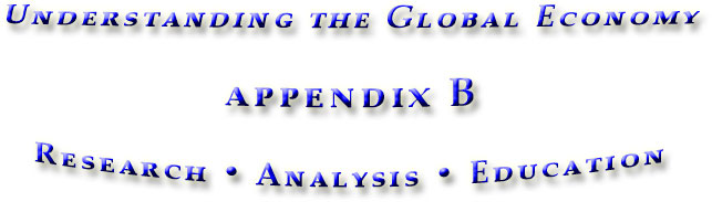 appendix B for the book Understanding the Global Economy